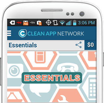 Clean App Network Phone - resized